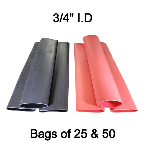 "BAS13806 - 3/4"" 3:1 Dual Wall Adhesive Lined Heat Shrink Tube"
