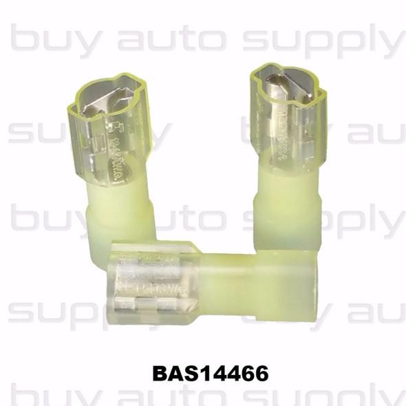 Yellow Female Quick Connect Terminal (Nylon)- BAS14466