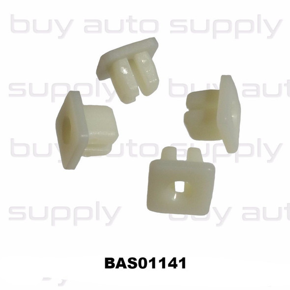 Screw Grommet / Nylon Nut- Interchanges: 75521-611-000, 90189-06010, 96706-P0105, 14274, 1614