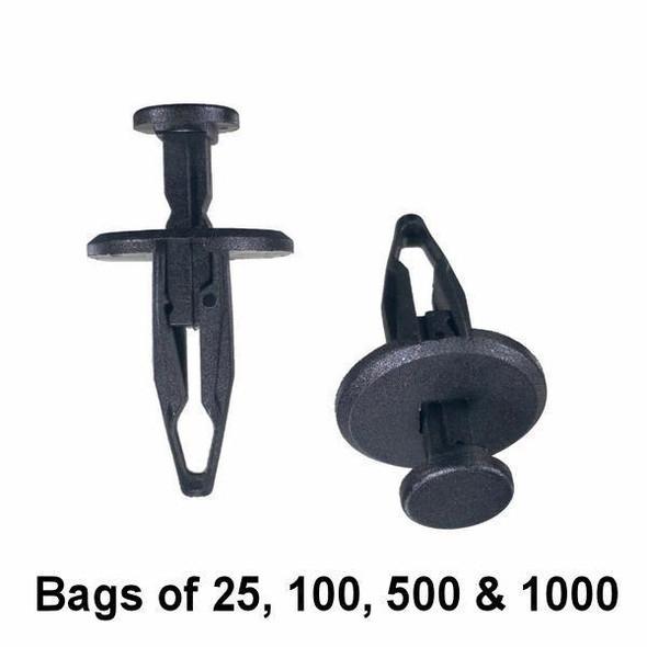 GM & Chrysler Push Retainer Clip - Interchange: Auveco 18030, Dorman 961-359, 700-579, 961359, 700579