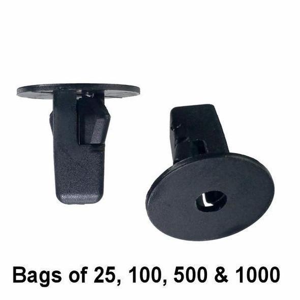 Toyota Screw Grommet 20mm - Interchange: Auveco 14267 Toyota 90189-06013, 96706-W100 Square Hole Screw Grommet