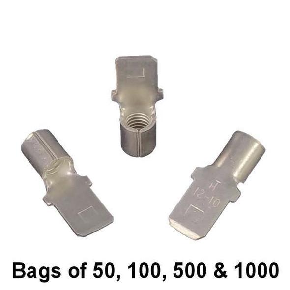 Male Quick Connect Spade Terminal (Non-Insulated) 12-10