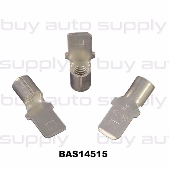 Male Quick Connect Terminal (Non-Insulated) 12-10 - BAS14515 - from Buy Auto Supply