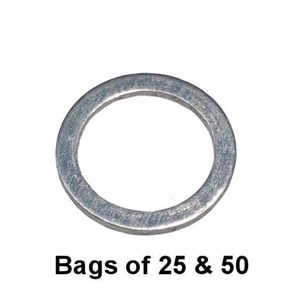 Oil Drain Plug Gasket - M18 Volvo Style Aluminum Interchange: Dorman 095-149 095149