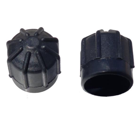 AC Service Port Cap Black - Interchanges:  BMW 64538387438, 64538390638, 66206004001