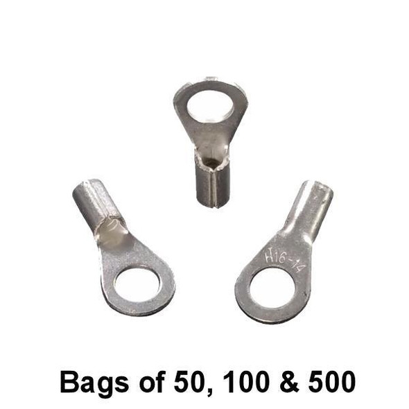 Non Insulated Ring Terminal (#10 Stud) 16-14