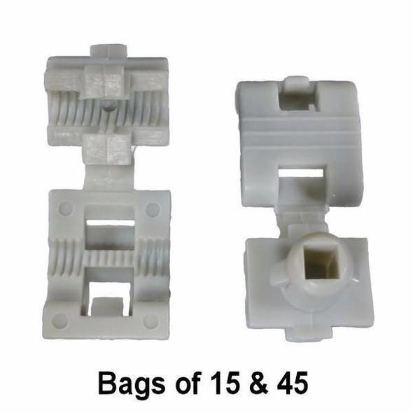 GM Clam Shell Door Lock Rod Clip - Interchange: Auveco 19658 Dorman 703-240 GM 16629990