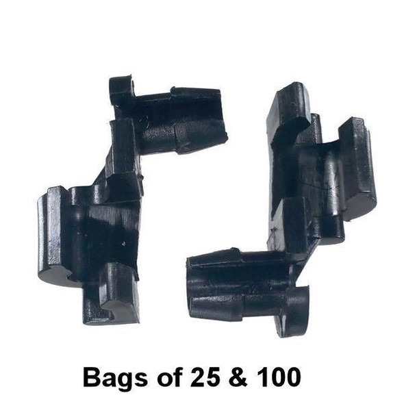 GM, Chrysler, Ford - Door Lock Rod Clip - Interchange: Auveco 14967 Dorman 703-235 GM 9815325