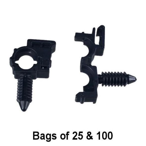 Wire Loom Routing Clip 1/4 I.D - Interchange: Auveco 19440 GM 12040984