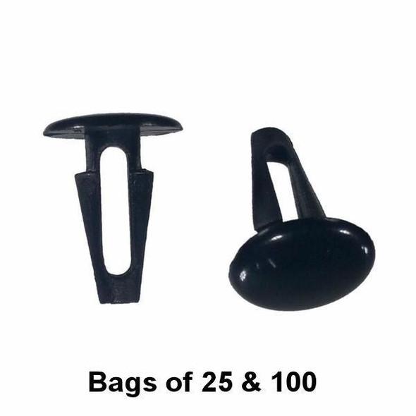 Trim Retainer Clip for Toyota / Nissan - Interchange: Dorman 799-140, 799-018, 45470, 45689 Auveco 14737