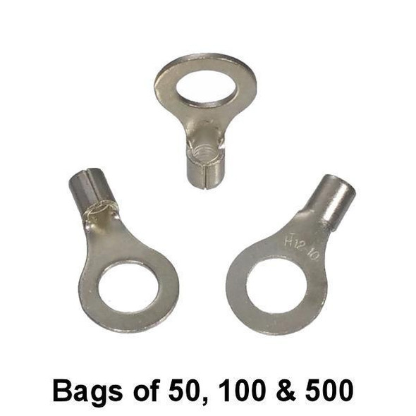 """Non Insulated Ring Terminal (5/16"""" Stud) 12-10"""