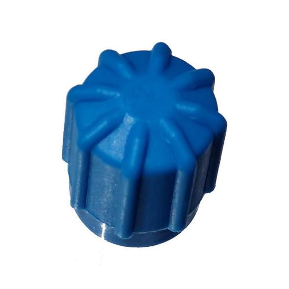 AC Service Cap - Blue Low Side M8x1.0, Interchanges: MT0192