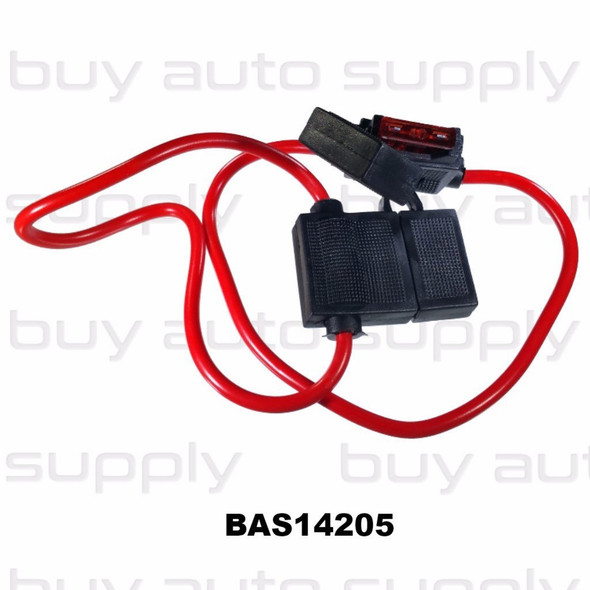 In Line Fuse Holder - Standard Blade - BAS14205 - from Buy Auto Supply