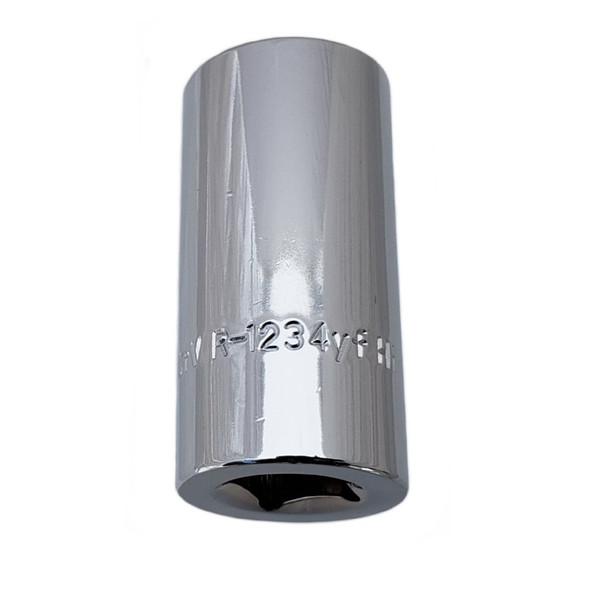 R-1234YF High Side Octagon Socket for GM Port 22748614, Delco 15-51312