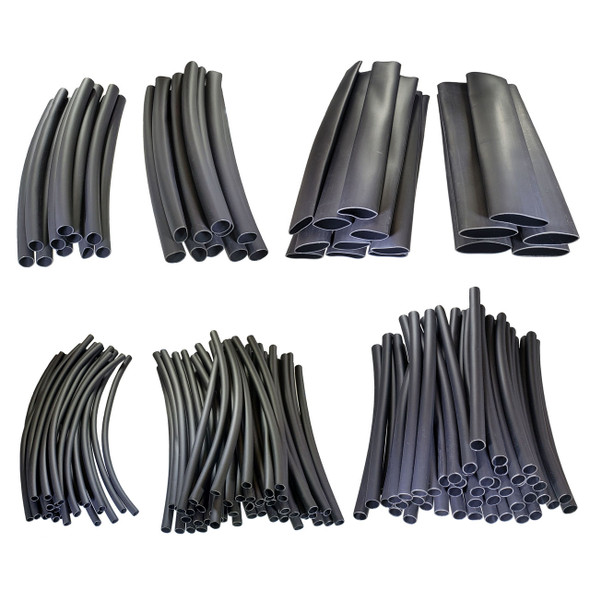 3:1 Dual Wall Adhesive Lined Heat Shrink Tube - Starter Kit - 160 pieces