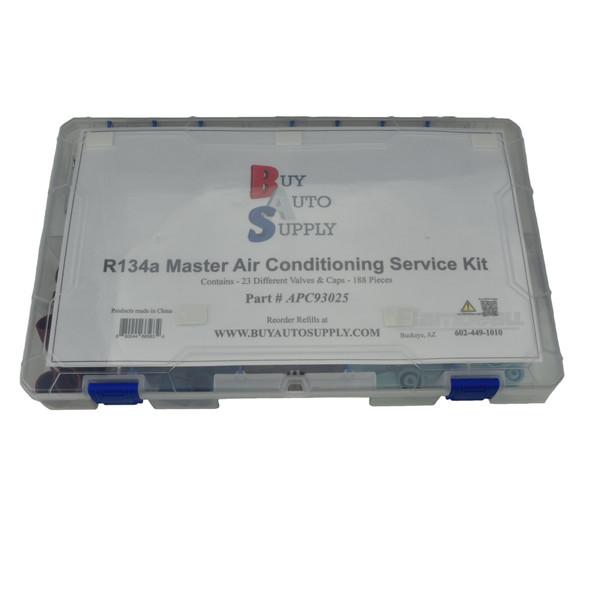 APC93025 - 134a A/C Cap & Valve Master Kit