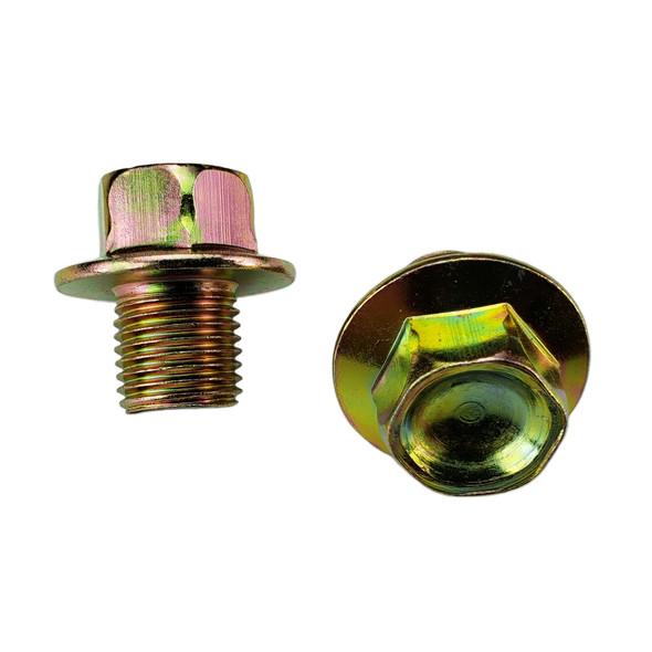 Oil Drain Plug  M12-1.25, Head Size 14mm - Interchanges:  Dorman 090-038 / Ford F4XZ-6730-AA / Toyota 90341-12012, 90341-12023 / Nissan 11128-01M00, 11128-01M01, 1112801M0B / Napa 7041922