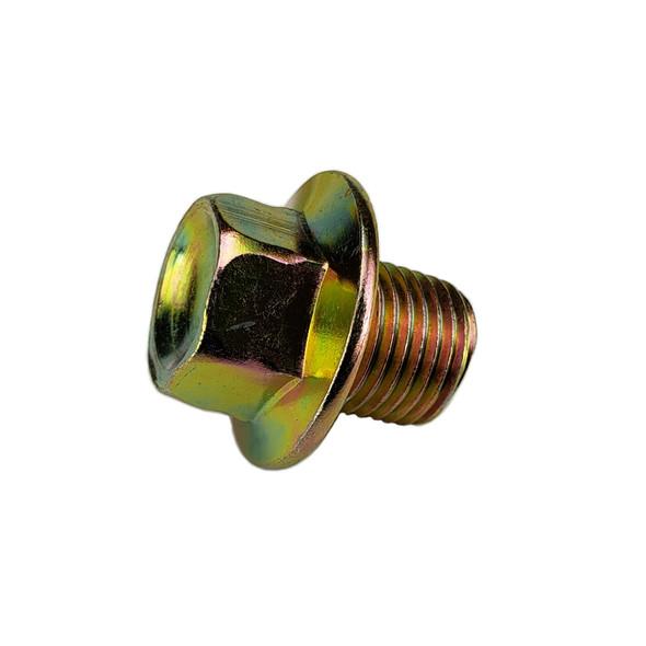 M12-1.25 Oil Drain Plug , Head Size 14mm - Interchanges:  Dorman 090-038 / Ford F4XZ-6730-AA / Toyota 90341-12012, 90341-12023 / Nissan 11128-01M00, 11128-01M01, 1112801M0B / Napa 7041922
