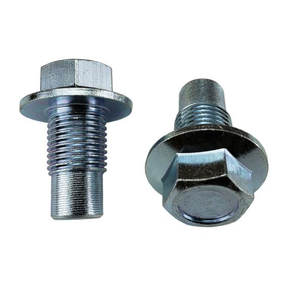 Oil Drain Plug Pilot Point 1/2-20, Head Size 15mm - Interchanges:  Dorman 090-052 / Chrysler Jeep 2125890, 2268564, 4095544 / Napa 7041064