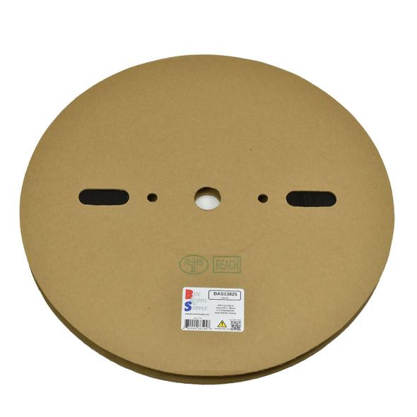 Roll of 7mm - 2:1 Heat Shrink Tube - Black 328 Foot (100 Meters) Wholesale Bulk Roll Pricing