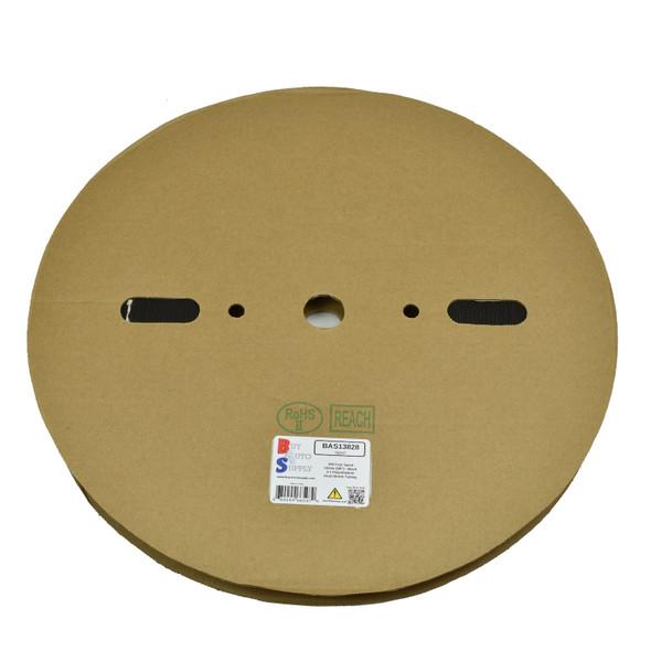 Roll of 16mm - 2:1 Heat Shrink Tube - Black 328 Foot (100 Meters) Wholesale Bulk Roll Pricing