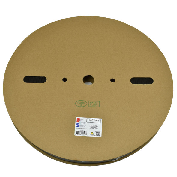 Roll of 20mm - 2:1 Heat Shrink Tube - Black 328 Foot (100 Meters) Wholesale Bulk Roll Pricing