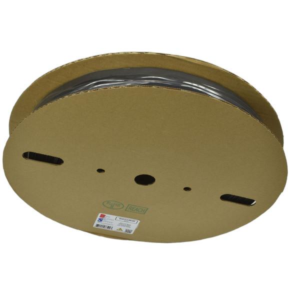 25mm - 2:1 Heat Shrink Tube Roll - Black 164 Foot (50 Meters)