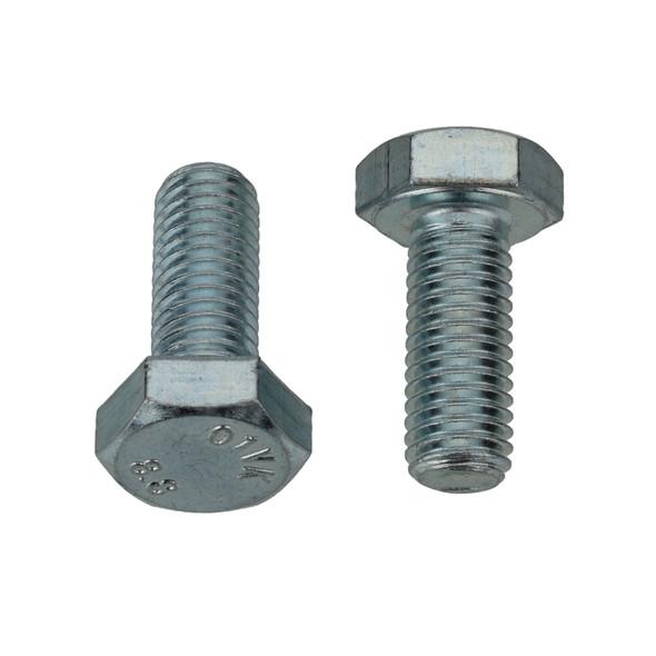 M10-1.50 x 25mm - 17mm Hex Head Bolt - Interchange: Auveco 14431 Disco 894pk