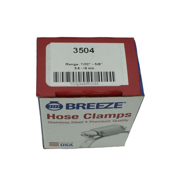 """#04 Mini Hose Clamp - 7/32"""" - 5/8"""" (3504)"""