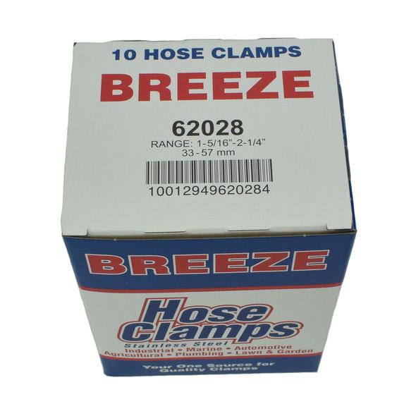 """#28 Hose Clamp - 1-5/16"""" to 2-1/4"""" (62028)"""