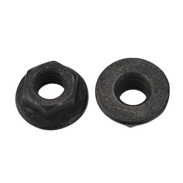 M5 Black Hex Flange Nut - Interchanges:  Disco 5797 / Auveco 19309