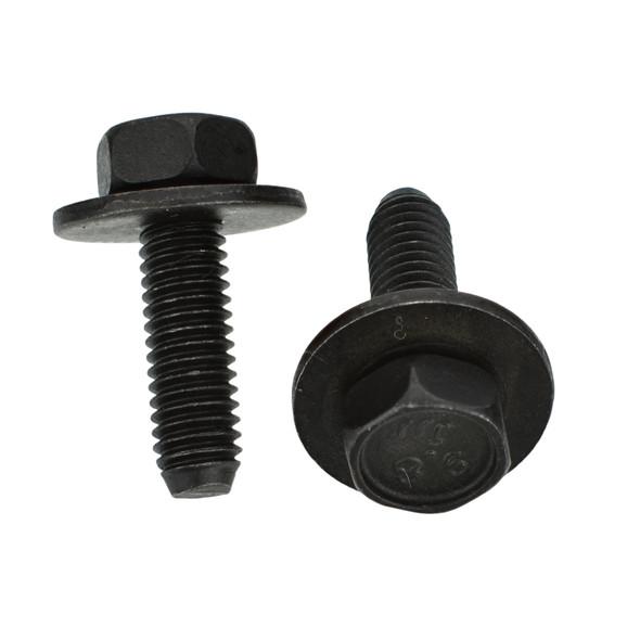 Black Hex Bolt - M6-1.0 x 20mm - 17mm Washer