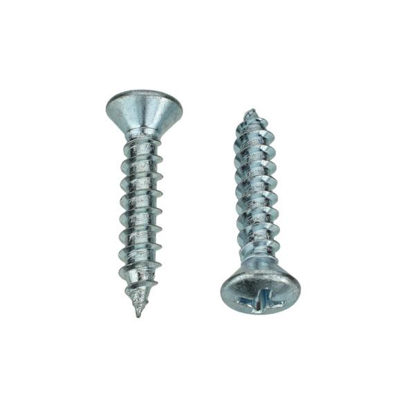 """BAS02941 - Zinc Trim Screw - #10 x 1"""" (557PK)"""