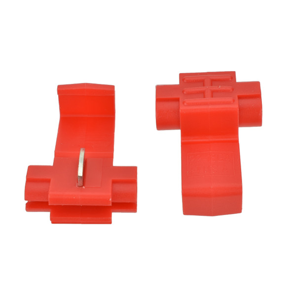 22-18 Red Nylon Instant Tap - Made in USA Replaces Scotchlok