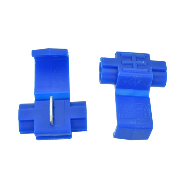 16-14 Blue Nylon Instant Tap - Made in USA Replaces Scotchlok