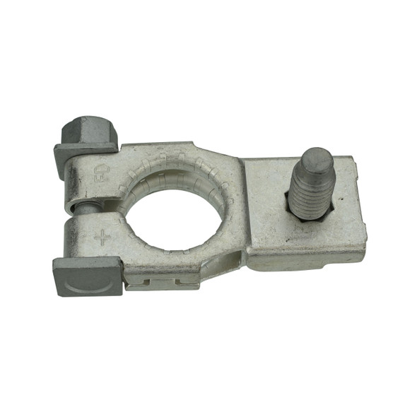 OE Style Top Post Positive Battery Terminal, Includes Nut Interchange Numbers: Toyota 90982-05061, 90982-05054, 90982-05056 / Nissan 24340-JA74A / Subaru 81608AG020