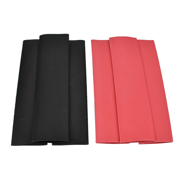 1 Inch - 3:1 Dual Wall Heat Shrink Tube ( Adhesive Lined ) Sold in 6 inch lengths. Bags of 25. Available in Black and Red from Buy Auto Supply