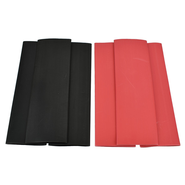 1-1/4 Inch - 3:1 Dual Wall Heat Shrink Tube ( Adhesive Lined ) Sold in 6 inch lengths. Bags of 10 & 25. Available in Black and Red from Buy Auto Supply