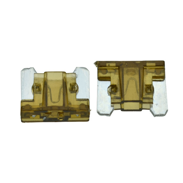 ATLM Low Profile Fuse, 7.5 Amp - Fast Acting blade style fuse. For use in Automotive, Boat, RV and Low-Voltage Electrical Systems.