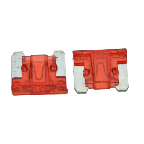 ATLM Low Profile Fuse, 10 Amp - Fast Acting blade style fuse. For use in Automotive, Boat, RV and Low-Voltage Electrical Systems.