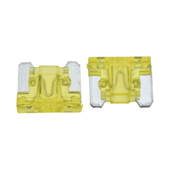 ATLM Low Profile Fuse, 20 Amp - Fast Acting blade style fuse. For use in Automotive, Boat, RV and Low-Voltage Electrical Systems.