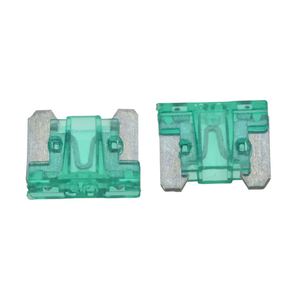 ATLM Low Profile Fuse, 30 Amp - Fast Acting blade style fuse. For use in Automotive, Boat, RV and Low-Voltage Electrical Systems.