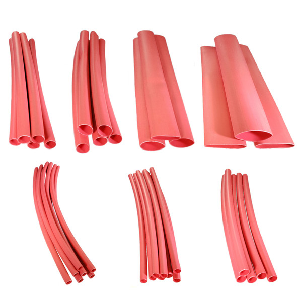 ASK13801 3:1 Red Dual Wall Adhesive Lined Heat Shrink Tube - Starter Kit