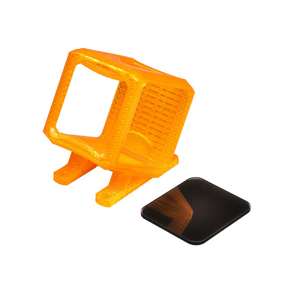 RUNCAM5 TPU 3D Printed Mount With ND8 Filter (compatible SpeedyBee  5 inch Freestyle frame)