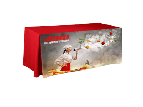 printed table covers for restaurant