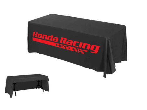 one-color printed promotional table throw