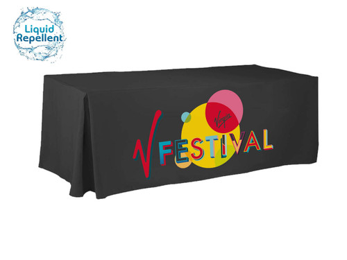 Promote your message on these printed table covers