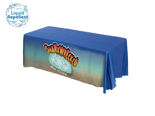 Table throw front panel printed 5Ft