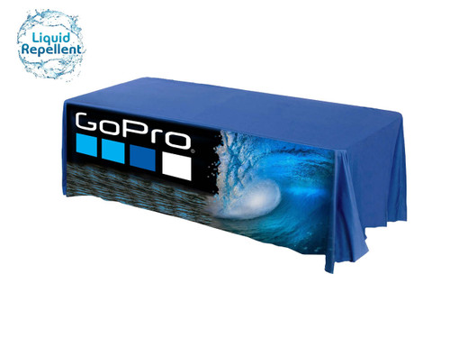 Royal Blue Liquid Resistant Table Cover