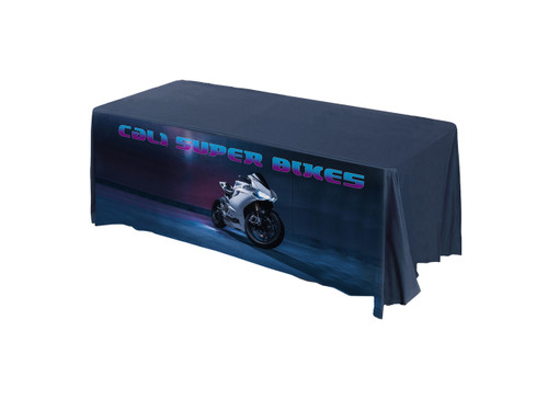 Cali Super Bike promotional tablecloth